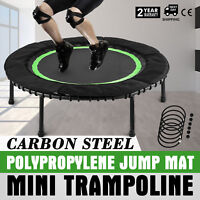 """40"""" Mini Trampoline In-Home Safety Bungee Cover Play  Activity Workout"""