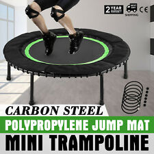 In-Home 40 inch Mini Trampoline Safety Bungee Cover Kids Safe Elastic Exercise
