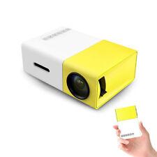 Mini Pocket Projector Home Cinema PC Laptop USB SD AV HDMI Input Movie