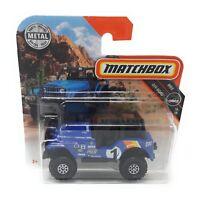 Matchbox MBX Superfast 2018 No 109 Jeep 4x4 1960 blue short blister card
