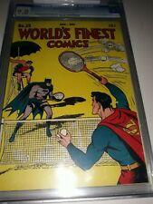 World's Finest Comics #25 (1946) CGC 9.0 ( VF/NM ) - Golden Age Batman Superman