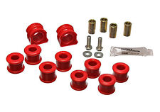 Energy Suspension Front VW Volkswagen Golf Jetta Beetle Sway Bar Bushing Set Red
