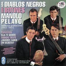 LOS DIABLOS NEGROS-LOS BOTINES..2CD