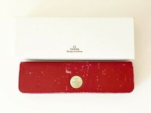VINTAGE OMEGA SPEEDMASTER/SEAMASTER/CONSTELLATION RED BOX WITH CARDBOARD OUTER