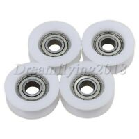 U Groove Sealed Pulley Ball Bearing Roller Guide Wheel for Home Furniture