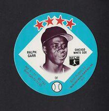 1978 MSA Big T / Tastee Freez Discs RALPH GARR Chicago White Sox MINT