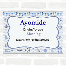 Ayomide Name Meaning Nautical Certificate