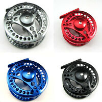 CNC MACHINED ALUMINUM FLY FISHING REEL 5/6 7/8 9/10 LEFT OR RIGHT HAND RETREIVE