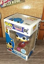 2020 Funko Pop Shop Exclusive Limited Edition Games Flocked Sonic The Hedgehog