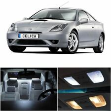 8x White Interior LED Lights Package Kit Fits 2000-2005 Toyota Celica