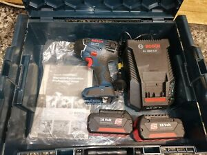 New Bosch Impact Driver / Impact Wrench Set