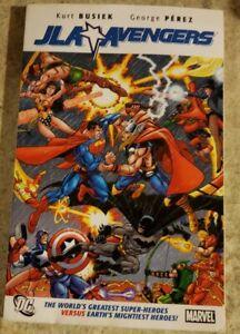 JLA Avengers 2008 TPB Softcover Paperback Marvel DC George Perez Kurt Busiek