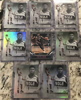 2019 Panini Chronicles Essentials Zion Williamson RC (8)Card Lot Rookie Pink