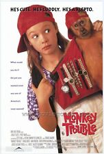 MONKEY TROUBLE Movie POSTER 27x40 B Thora Birch Harvey Keitel Mimi Rogers