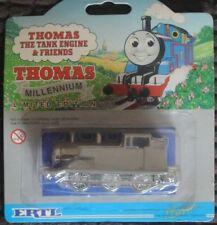 """ERTL THOMAS THE TANK ENGINE """"THOMAS"""" MILLENIUM EDITION ,SILVER/CHROME"""