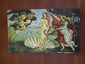 """Liberty Jigsaw Puzzle """"The Birth of Venus"""" by Botticelli 420 piece Complete"""