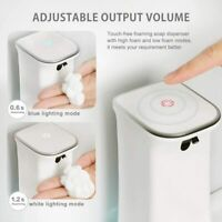 Automatic Induction Foaming Hand Washer Infrared Sensor Soap Dispenser US
