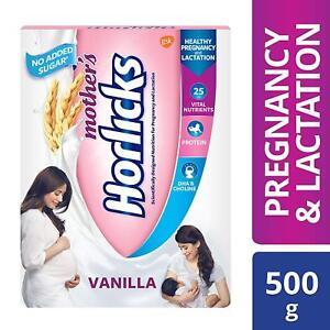 Mother's Horlicks Health & Nutrition drink Vanilla 500gm pack