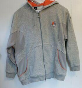 Jordan 8 VIII Orange Blaze Sweatsuit Tracksuit Set Grey Hoodie 2007 Nike Retro