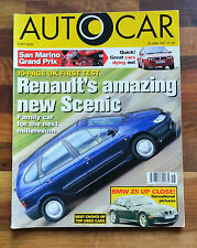 Autocar Magazine 30 April 1997: Marcos Mantis, Great Cars Dying Out, F1 Safety