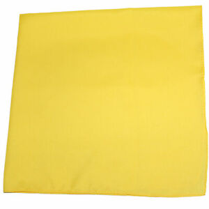 Unibasic X-Large Polyester Accessory and Decor Solid Bandana - 27 x 27 Inches -