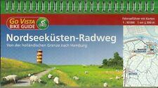 NORDSEEKÜSTEN-RADWEG von der HOLLÄNDISCHEN GRENZE N. HAMBURG MIT KARTEN 1:50.000