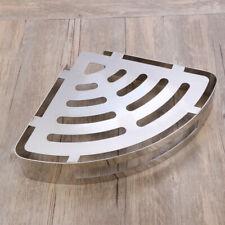1Pc Bathroom Triangle Shower Basket Wall Mounted Rack Space Corner Storage Shelf