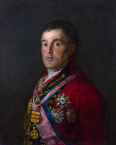 Francisco Goya - Portrait of the Duke of Wellington | Art Museum | Canvas Print