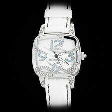 "Jean Richard Milady ""Air"" High Jewelry Ladies' Auto. Watch Diamonds MOP Rare LE"