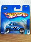 Hot Wheels Baja Bug VW Beetle Model Mint on Card No 161 dated 2005 short card