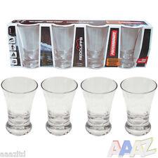 4 x 45ml bicchierini di POLICARBONATO INFRANGIBILE Festa all'Aperto bar drink Tequila