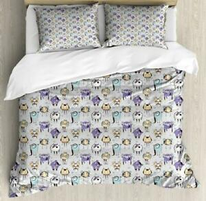 Alien Duvet Cover Set Twin Queen King Sizes with Pillow Shams Bedding Decor