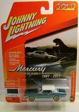 1968 '68 MERCURY COUGAR XR7-G MADRAS BLUE JOHNNY LIGHTNING CLASSIC GOLD 2017
