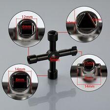 Universal cross key triangle touches pour train électrique ascenseur cabinet valve
