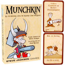 NEW IN BOX Munchkin Card Game by Steve Jackson Games Illustrated by John Kovalic
