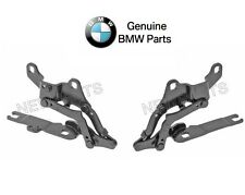 NEW Genuine BMW E90 E92 3 Series Pair Set of Left and Right Hood Hinges OES