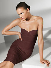 WOLFORD FATAL TUBE DRESS in Java Brown, Size: S  Ret:$215 New in Box/Tags