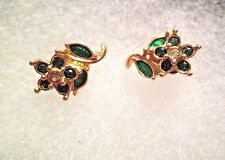 AVON VINTAGE PRECIOUS FLOWER EARRINGS W/SURGICAL STEEL POSTS*NEW*1992*ON SALE