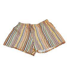 Paul Smith Signature Stripe Print Multicolor Swim Shorts Men's XL