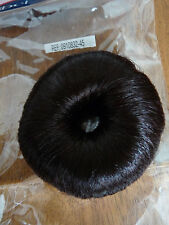 SIBEL HAIR BUN RING ROLLER  in Dark Brown or Black   BRAND NEW