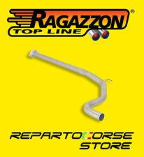 RAGAZZON TUBO CENTRALE DIAMETRO MAGGIORATO 60mm GRANDE PUNTO ABARTH 1.4TJET