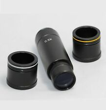 0.3X C-mount adapter 4 Microscope CCD Camera Digital Eyepiece 23.2mm 30mm 30.5mm