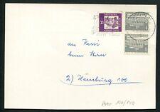 BERLIN DAUERSERIE 140 BAUTEN SENKRECHTES PAAR auf Postkarte Mi nur -.-!! a2909