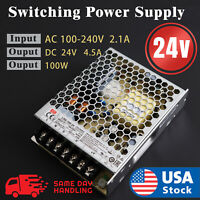 Mean Well LRS  100w 24V 4.5A Switching Power Supply