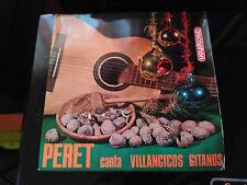 EP PERET CANTA VILLANCICOS GITANOS - DISCOPHON SPAIN 1965 VG+