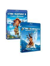 L'era Glaciale 3 + L'era Glaciale 4 - Continenti Alla Deriva 3D bluray(4 dischi)