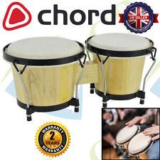 More details for chord natural bongos pair 6.5
