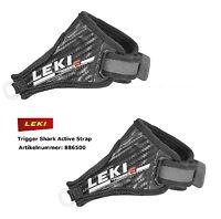 LEKI Trigger Shark Active Strap Bucles Para Marcha Nórdica, Skating, de Fondo