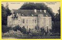 cpa France LIZY sur OURCQ (Seine et Marne) Le vieux CHÂTEAU Parfumerie LYZIENNE