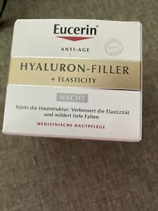 eucerin hyaluron filler&elasticity  nacht , Neu